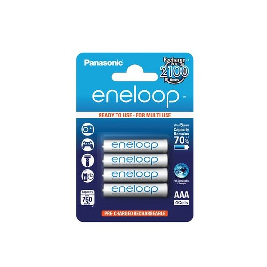 Eneloop AAA Batteries (Panasonic)