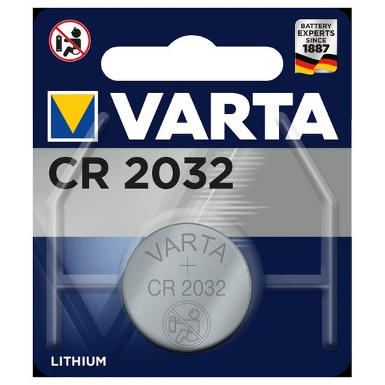 CR2032 Button Cell (Varta)