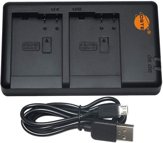 DMW-BLC12E USB Dual Charger (Panasonic)