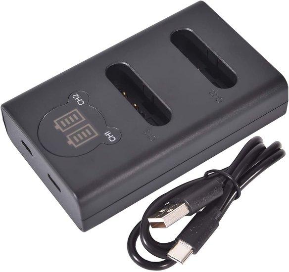 LI-92B USB Dual Charger (Olympus)