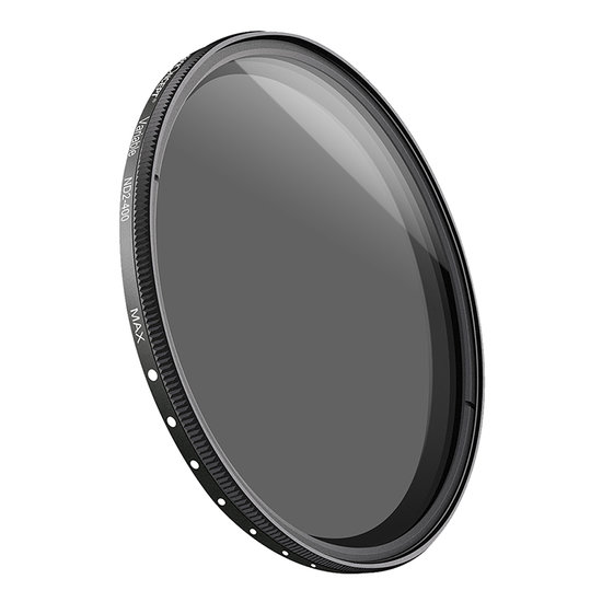 K&F Variable Fader ND2-ND400 filter (62mm)