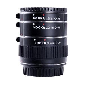 Kooka KK-C68 Extension tube set (Canon)